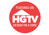 Featured on Design On A Dime - HGTV Show
